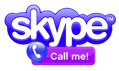 Call me on Skype