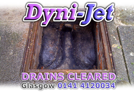 blocked drain cleaning glasgow